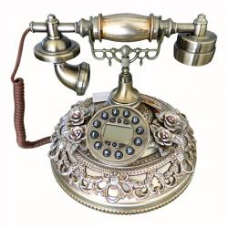 Flower Designed Telephone Set - (FL205-52)