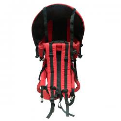 Baby Carrier Bag With Head Cover-Red - (JRB-015)
