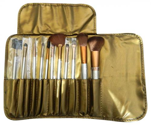 Naked 12 pcs Professional Makeup Brushes - (ATS-001)