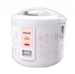 Philips Daily Collection HD3018/01 1.8-Litre 650-Watt Rice Cooker with 3D Heating Technology - (HD-3018)