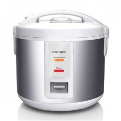 Philips Daily Collection Jar HD3011/08 - Rice Cookers (50/60 Hz, Silver, White) - (HD-3011)