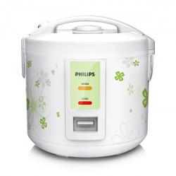 Philips Daily Collection HD3017/08 1.8-Litre 650-Watt Rice Cooker - (HD-3017)