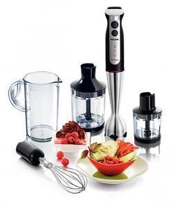 Philips Pure Essentials Collection HR1372/90 700-Watt Hand Blender - (HR-1372)