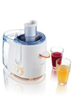 Philips HR1851 Viva Collections Juice Extractor 500 Watt. 1.5 Ltr. - White - (HR-1851)