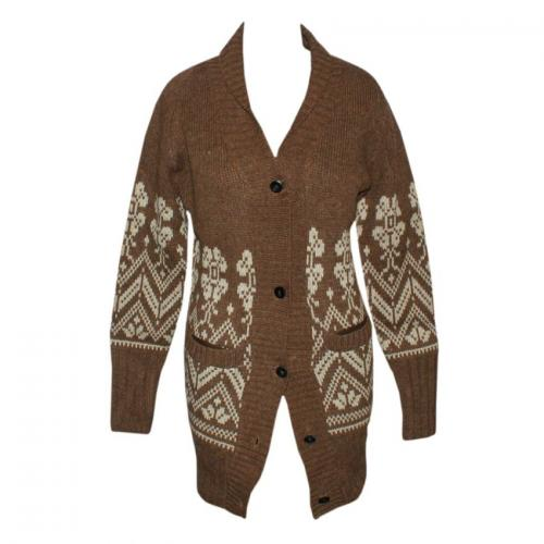 Jura Long Coat - Brown - (NEP-002)