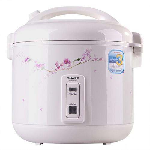 Sharp KS-18E Large 1.8 Liter Rice Cooker - (KS-18E)