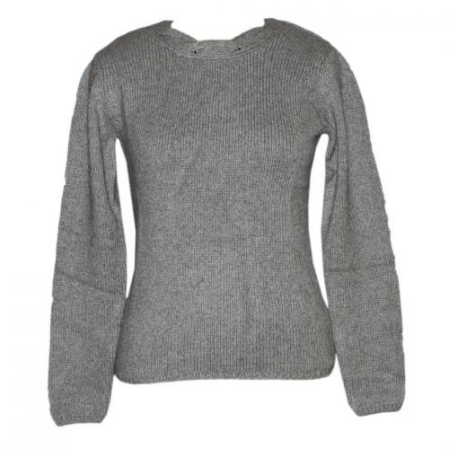 Ladies Chunky Round Neck FS Sweater - (NEP-005)
