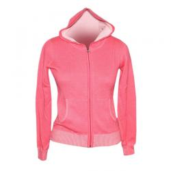 Ladies Mock Neck Full Zip With Jacquard - (NEP-008)