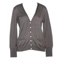Ladies V-Neck Cardigan FS - (NEP-015)