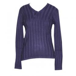 Ladies V-Neck FS Ribbed Sweater - (NEP-019)