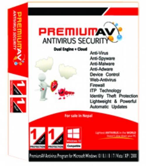 Premium Antivirus - 1User / 1Year - (MAAS-017)