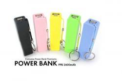 2600mAh Power Bank with KeyRing - (MAAS-054)