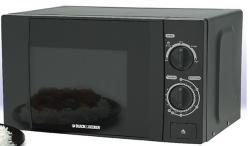 Black & Decker MZ2000P 20 Liter Microwave Oven - Black - (MZ-2000P)