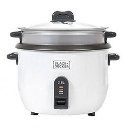 Black & Decker RC2850 1100W 2.8 L 11.8 Cup Rice Cooker - (RC-2850)