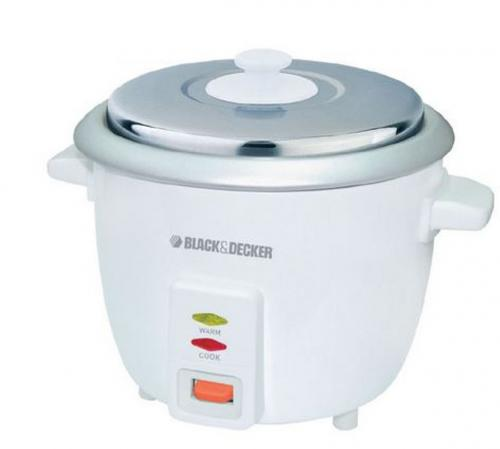 Black and Decker RC600 220 Volt Rice Cooker - (RC-600)