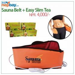 Sauna Belt + Easy Slim Tea - (GTPS-012)