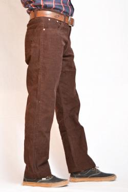 Dark Brown Cartridge Pant For Men - (TP-282)