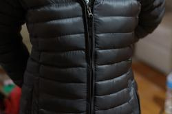 Black Silicon Down Jacket(packable)