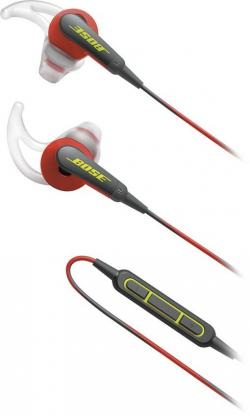 Soundsport IE Headphone MFI,Power Red,WW - (ES-130)