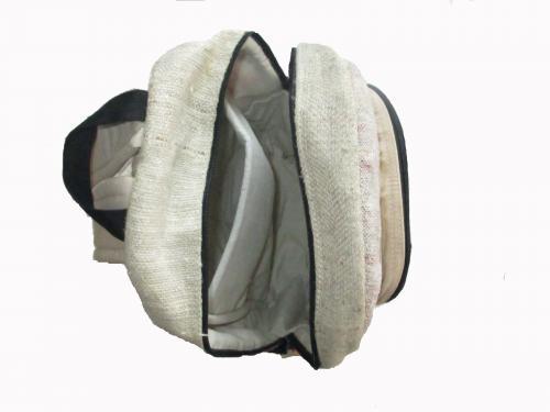 Hemp Cotton Laptop cum Travel Bag - (SOU-021)