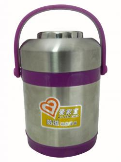 1.9 Ltr. Purple Color Hotcase With 2 Step - (TP-249)
