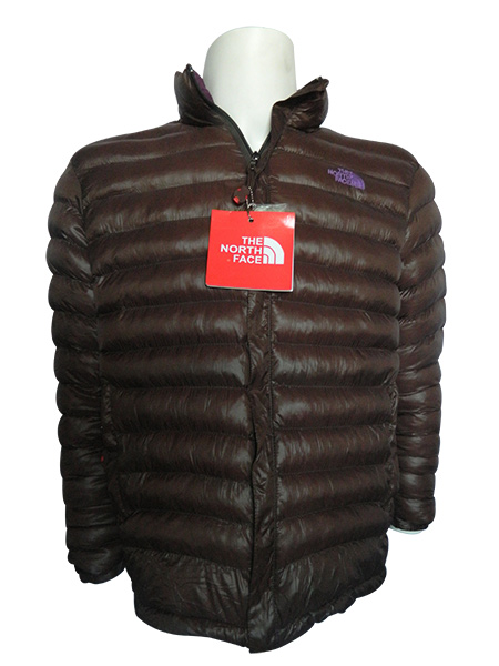 417311223f Brown North Face Down Jacket - (TP-256) by Thulo Pasal