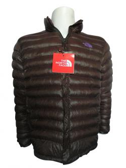 Brown North Face Down Jacket - (TP-256)