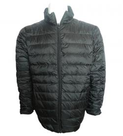 Ultra Light Black Down Jacket - (TP-259)