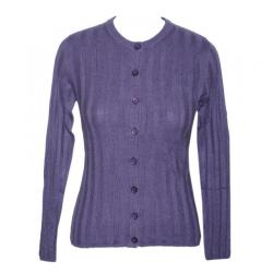 Twin Set Ladies Down Cardigan With High Neck - (NEP-040)