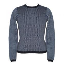 Unisex Round Neck Allover Jacquard Sweater - (NEP-041)