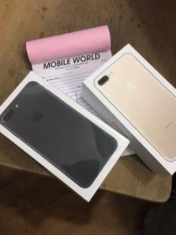 Brand New Apple iPhone 7 Plus 256GB Black