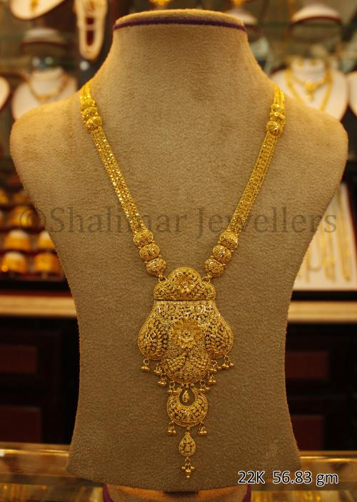 Wedding Gold Necklace - 56.83 gm - (SM-002)