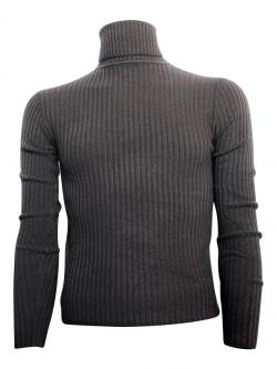Grey High Neck Sweater For Men - (TP-415)