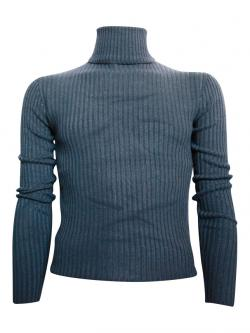 Grey High Neck Sweater For Men - (TP-416)