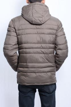 Silicon Hooded Down Jacket For Men - (SB-001)