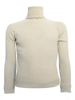 Off White High Neck Sweater For Men - (TP-417)