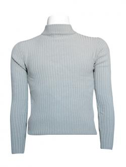 Grey T-Neck Sweater For Men - (TP-434)