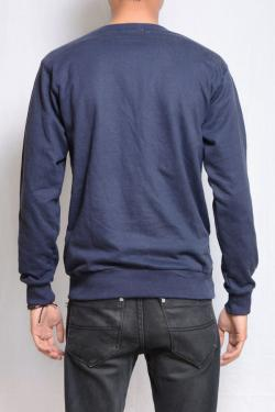 Stylish Blue Men's Sweatshirt - (TP-425)