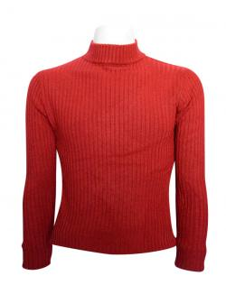 Red T-Neck Sweater For Men - (TP-435)