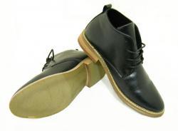 Black Leather Formal Shoes For Men - (SB-024)