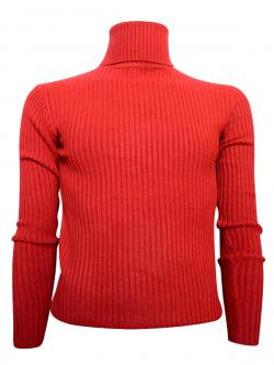 Red High Neck Sweater For Men - (TP-421)
