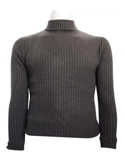 Dark Grey T-Neck Sweater For Men - (TP-436)