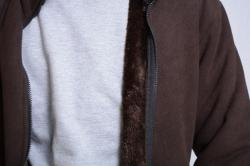 Men's Polar Jacket With Fur Inside - (TP-427)