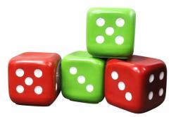 Dice Cube Stool - (NUNA-105)