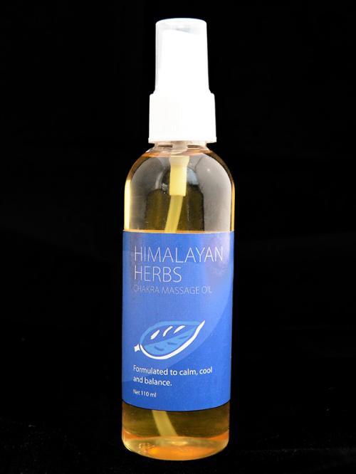 Himalayan Herbs Chakra Massage Oil - (HH-003)