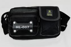 Black Waist Bag - (TP-450)