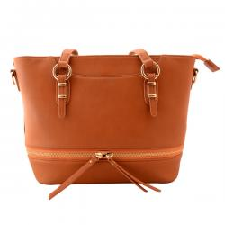 Brown Handbag For Ladies - (TP-406)