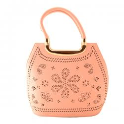 Peach Ladies Handbag - (TP-359)