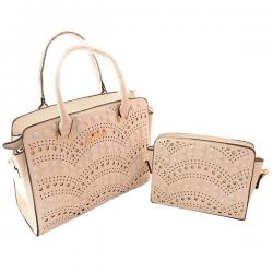 Fashionable Ladies Handbag-2 Pieces Set - (TP-366)