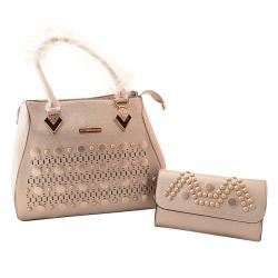 Victoria Beckham 2 Pieces Bag and Purse Set - (TP-371)